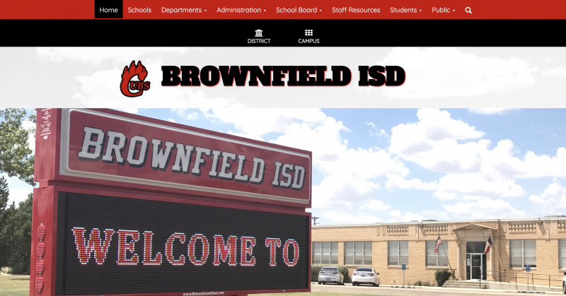 An Image showing Brownfield ISD