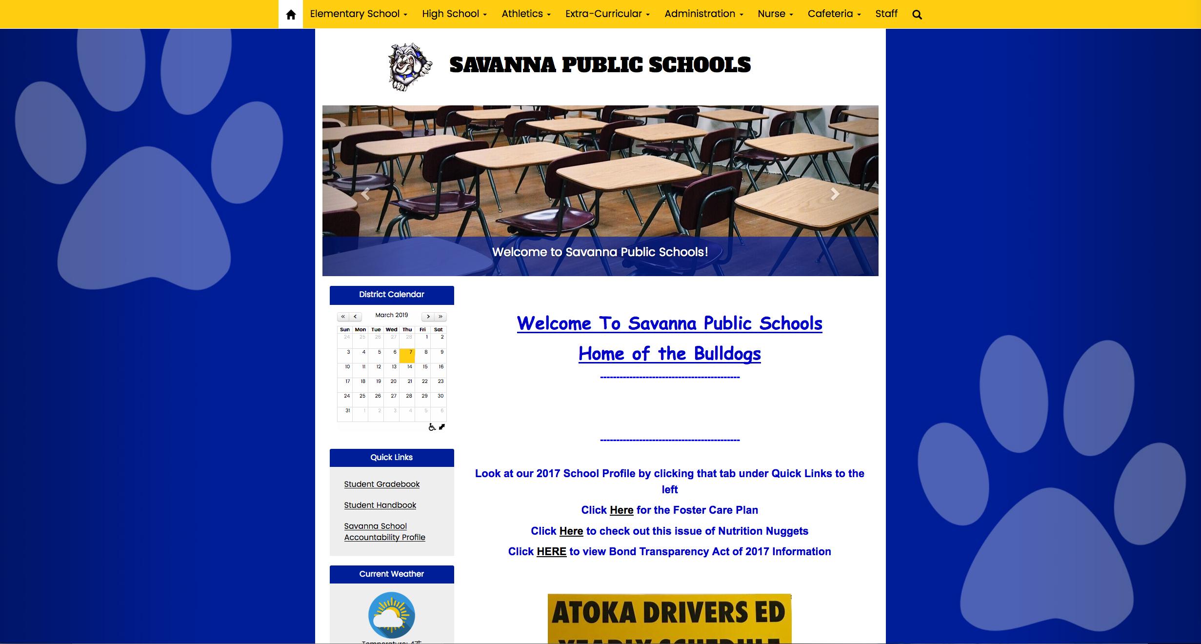 Savanna Public Schools