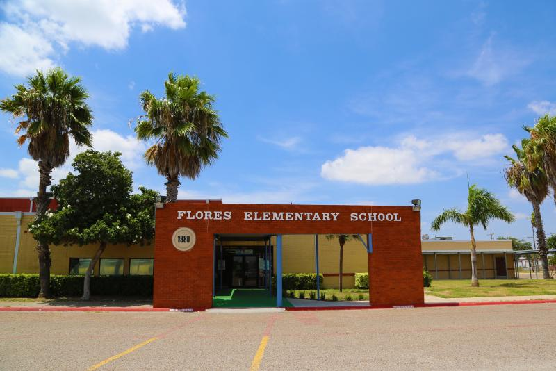 Landscape View facing Guillermo Flores Elementary