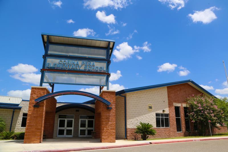 Landscape View facing Corina Peña Elementary