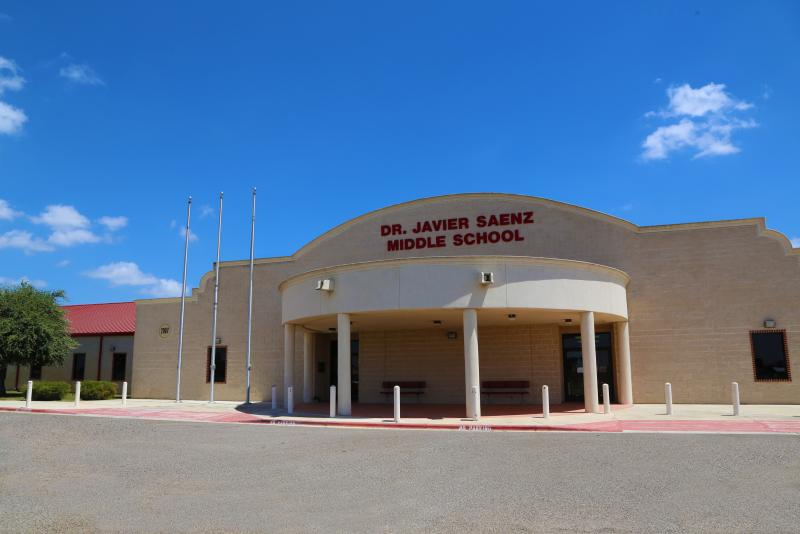 Landscape View facing Dr. Javier Saenz Middle School