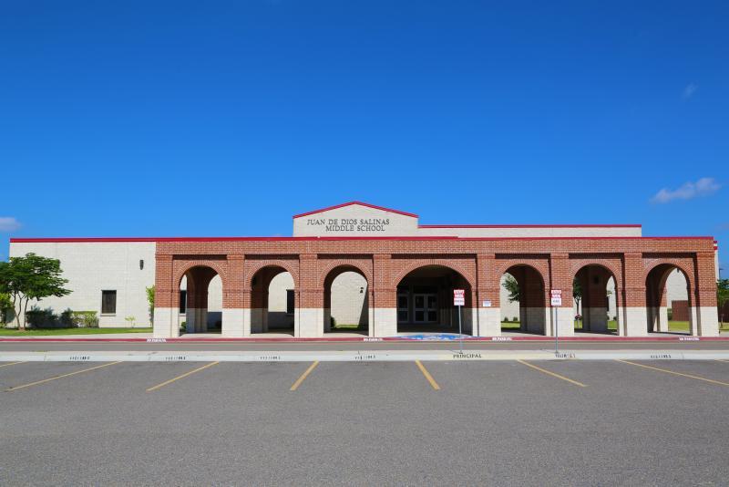 Landscape View facing Juan De Dios Salinas Middle School
