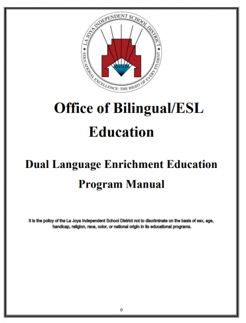 Bilingual DLE English Manual