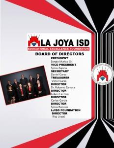 La joya isd board of directors