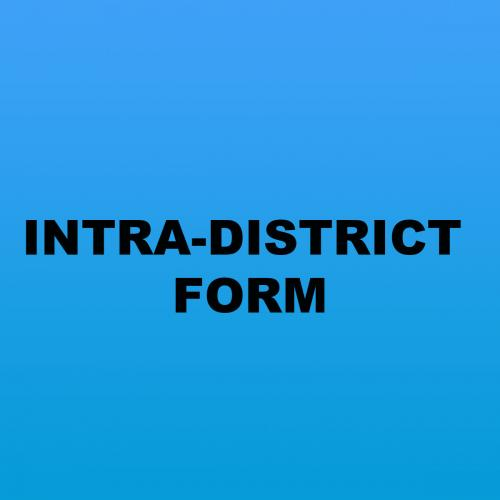 INTRA-DISTRICT FORMS