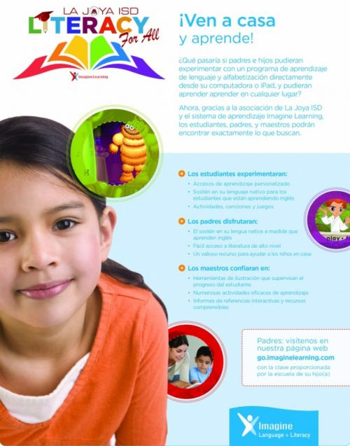 Literacy for All Flyer- Spanish