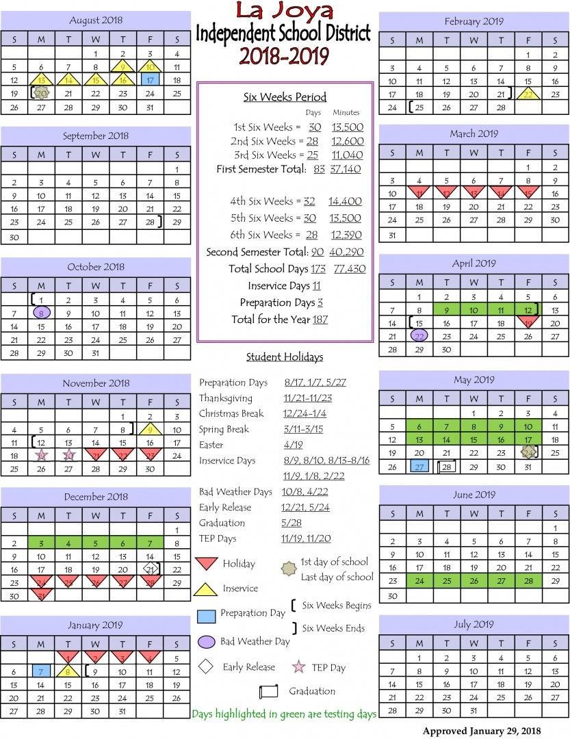LJISD Calendar