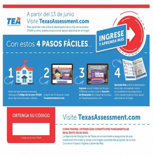 TEA login info Spanish