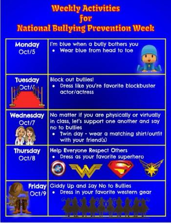National Bullying Prevention Week