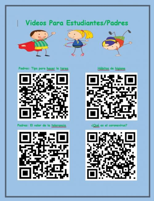 QR codes 2 for Covid 19