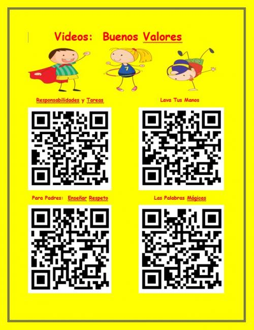 QR codes 1 for Covid 19