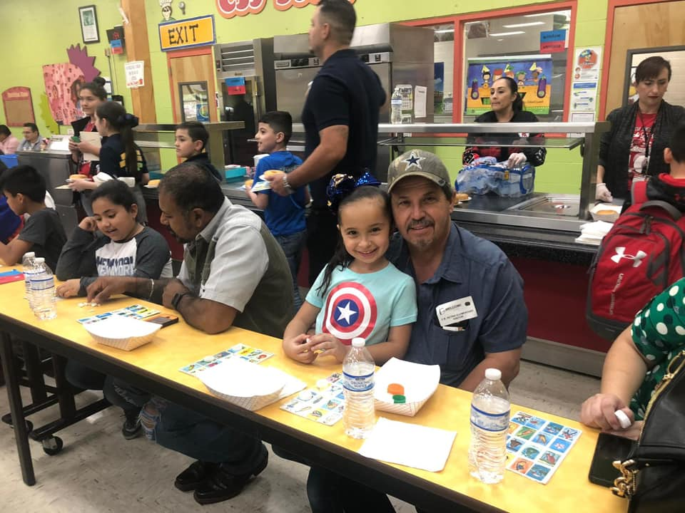 Donuts with dad event