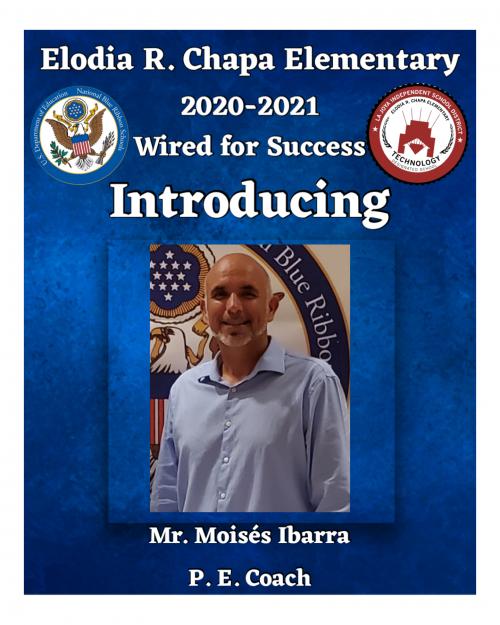 Coach Moises Ibarra