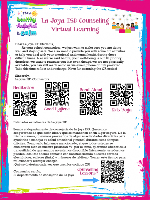Counseling QR Codes