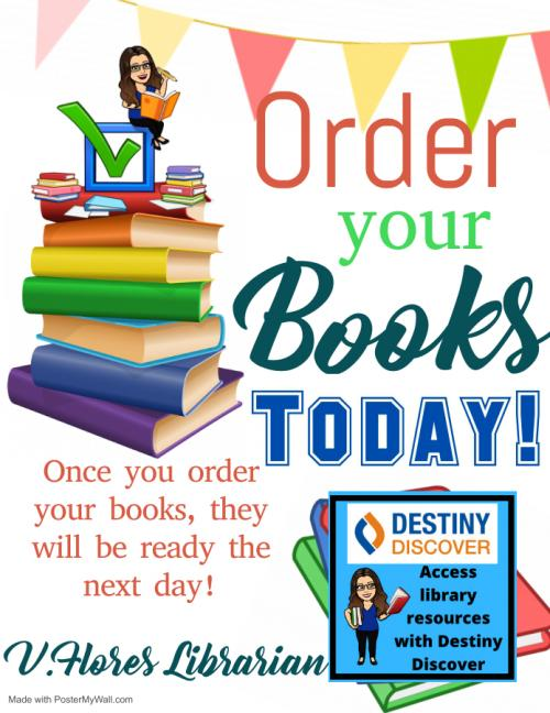 order your books today