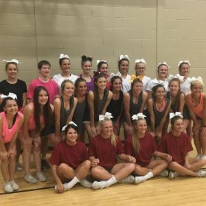 2016-17 Cheerleading Squad