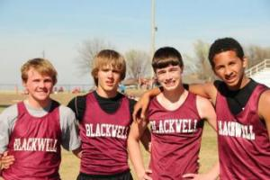 1600 Meter Relay Team took 1st place