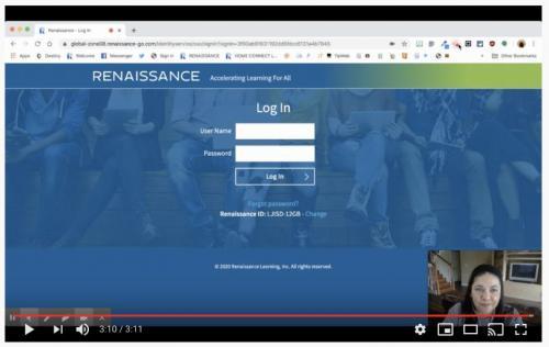 Reading Renaissance YouTube Tutorial Link