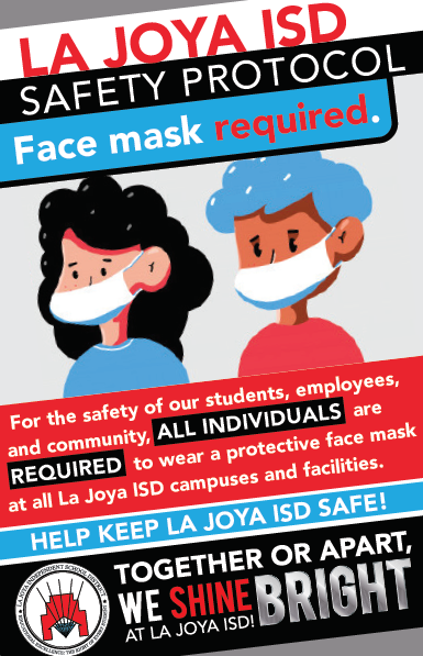 Face Masks required for all at LJISD