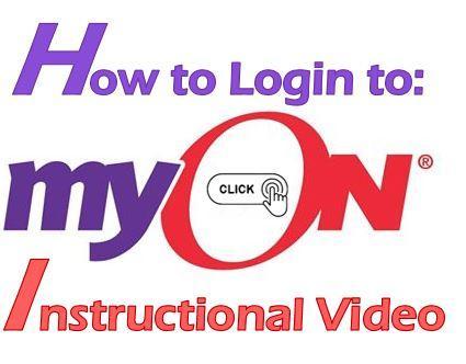 MyON Instructional Video Link