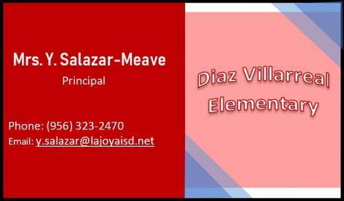 Contact: Y. Salazar-Meave, Principal