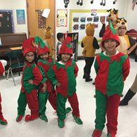 Elves from Elfis and the Sleigh Riders Musical