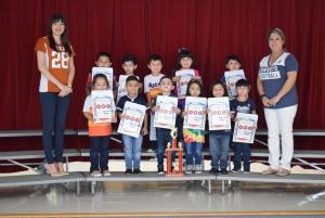 Pre-K - J. Arguijo's Class - Attendance Traveling Trophy Recipients