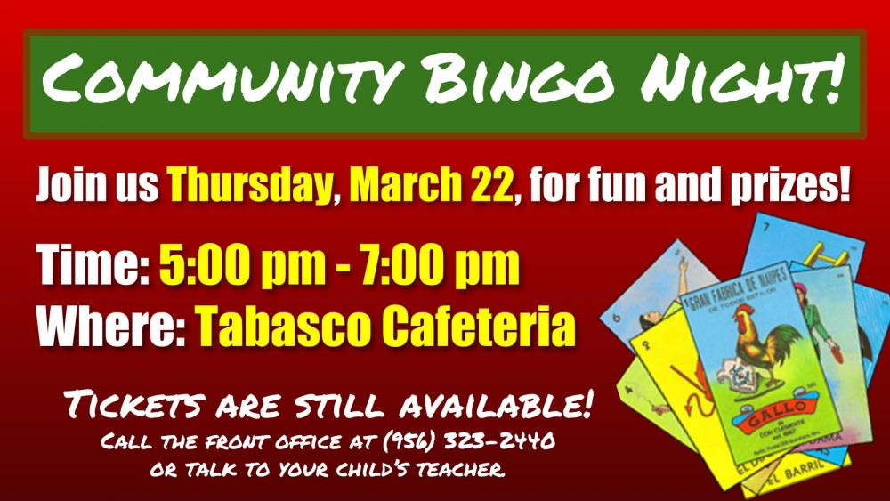 Community Bingo Night