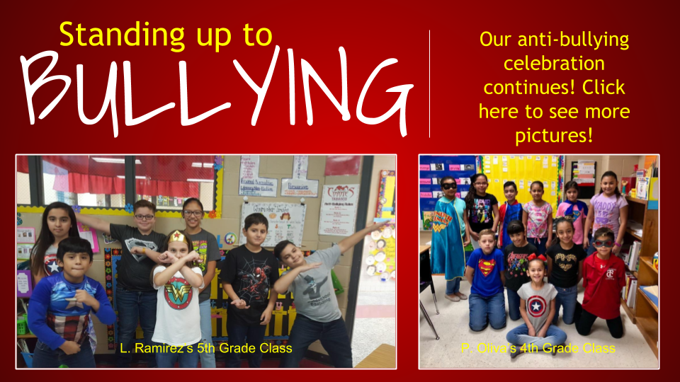 Standing up to bullying!