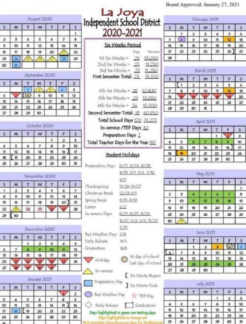 20-21 Updated Calendar