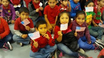 Perez Students honor their veterans