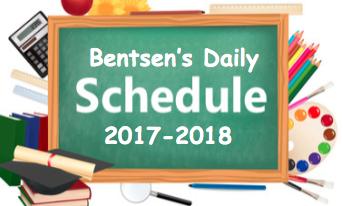 Bentsen Schedule Clipart