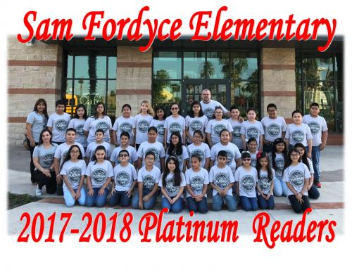 2017-18 Platinum Readers