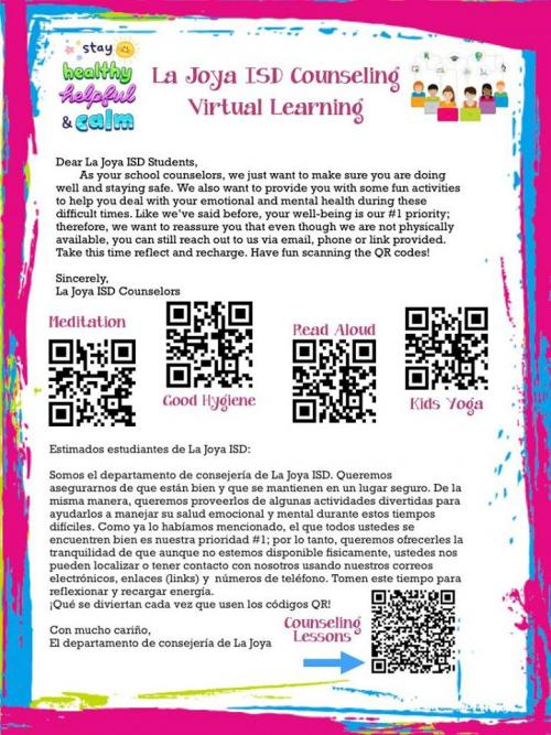 La Joya ISD Counseling Virtual Learning