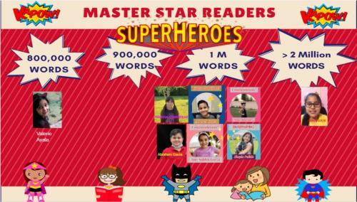 Master Star Reader Bulletin Board