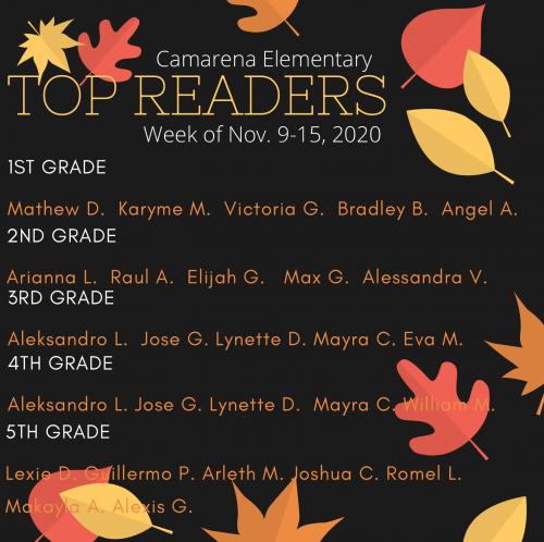 WK 9 Readers