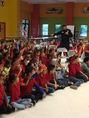 Dr Americo Paredes Elementary Fire Safety Week