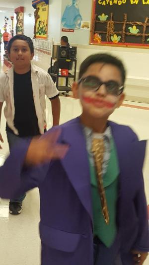 Dr Americo Paredes Elementary Halloween Parade