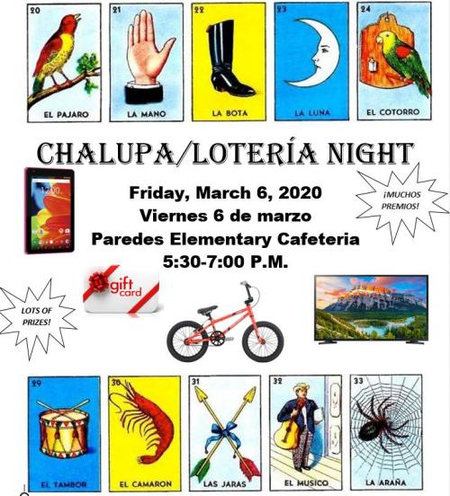 Chalupa Night