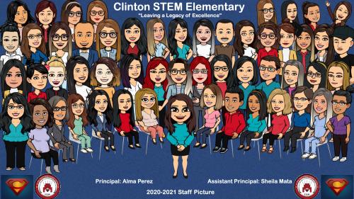 Staff STEM 2020-2021 Bitmoji Pic