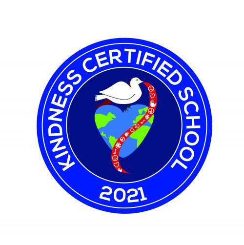 kindness certified school seal