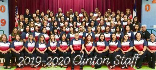 2019-2020 Clinton Staff
