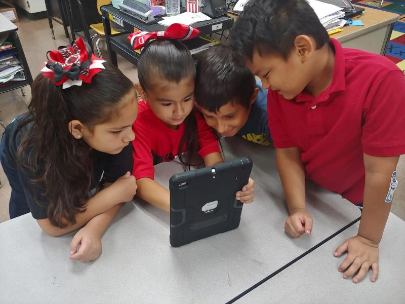 Science and Technology Come Together at Garza Elementary