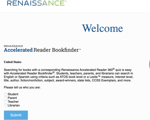 ar bookfinder is a website to find quiz availability for books