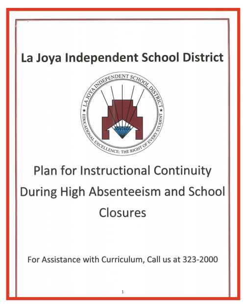 Plan for Instructional Continuity