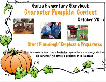 Character pumpkin Contest