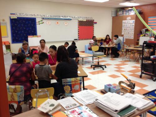 Meet the Teacher Night at Mendiola Elementary