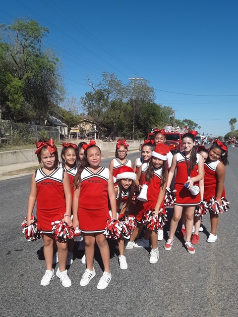Getting Ready for the La Joya Parade
