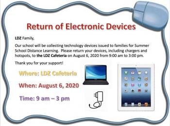 Return of Electronic Devices