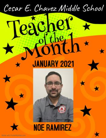 Teacher of the Month: January